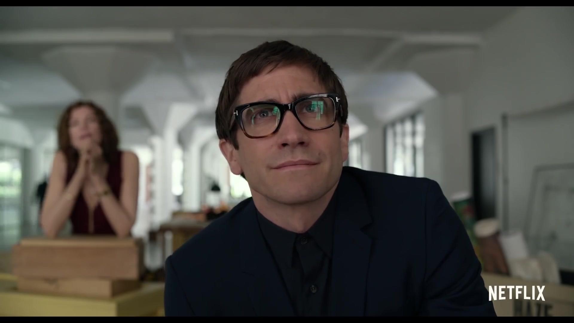 c1287e859ba83 Tom Ford Geometric Glasses Worn by Jake Gyllenhaal in Velvet Buzzsaw (2019)