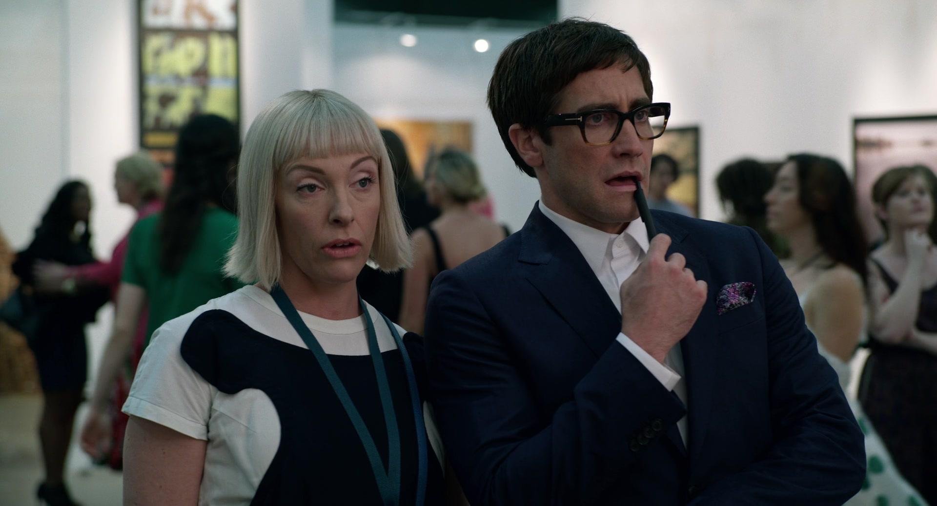 7cda75e9b9cc9 Tom Ford Geometric Glasses Worn by Jake Gyllenhaal in Velvet Buzzsaw (2019)  Movie Product