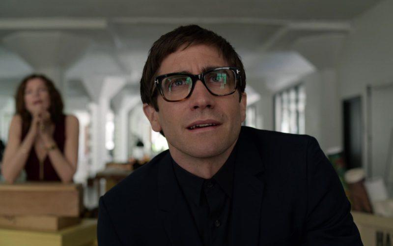 Tom Ford Geometric Glasses Worn by Jake Gyllenhaal in Velvet Buzzsaw Movie (8)