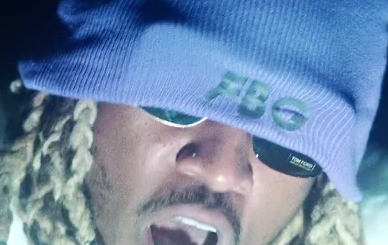 """Tom Ford Sunglasses and FBG Beanie Worn by Future in """"Jumpin on a Jet"""" (1)"""