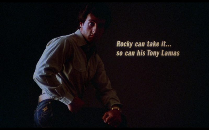 Tony Lama Jeans Worn by Sylvester Stallone (Rocky Balboa) in Rocky 3