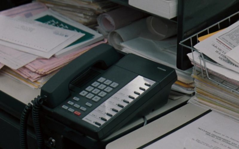Toshiba Telephone in The Pelican Brief
