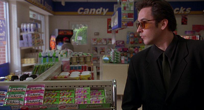 Trident Gum and Freedent Gum in Grosse Pointe Blank (1997) Movie