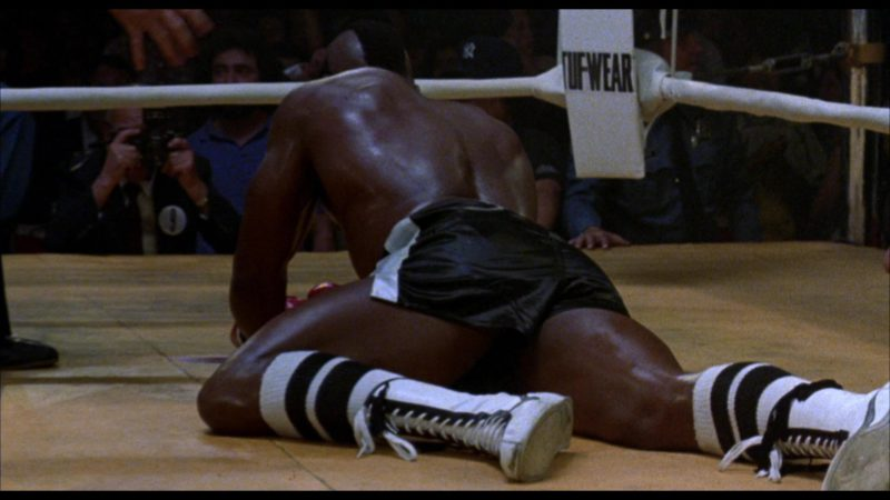 Tuf Wear Boxing Gear in Rocky 3 (1982) - Movie Product Placement