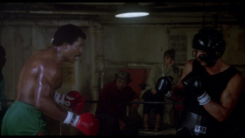 Tuf Wear Boxing Gloves Worn by Carl Weathers (Apollo Creed) in Rocky 3 (1982) - Movie Product Placement