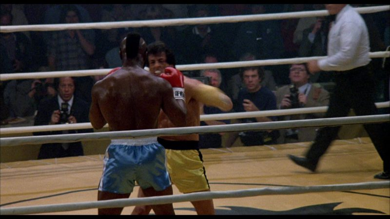 Tuf Wear Boxing Gloves Worn by Mr. T (Clubber Lang) in Rocky 3 (1982) - Movie Product Placement
