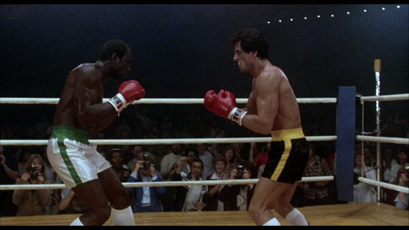 Tuf Wear Boxing Gloves Worn by Sylvester Stallone (Rocky Balboa) in Rocky 3 (1982) - Movie Product Placement