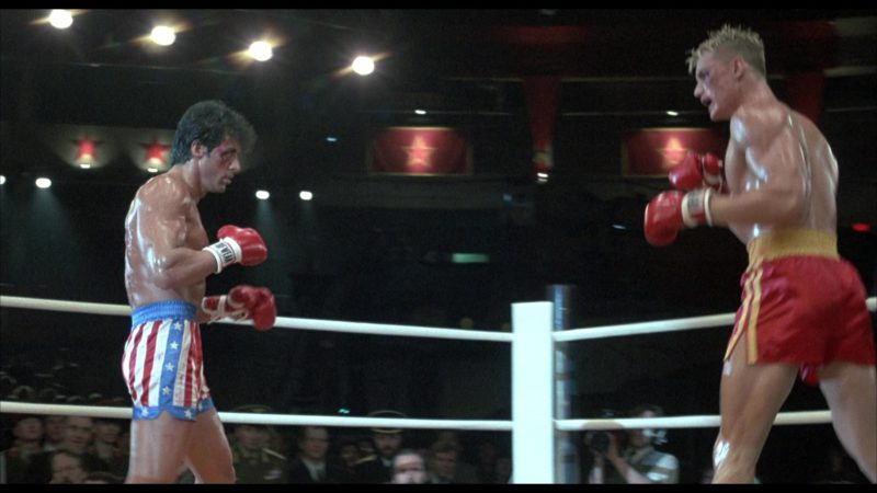 Tuf Wear Boxing Gloves Worn by Sylvester Stallone (Rocky Balboa) in Rocky 4 (1985) - Movie Product Placement