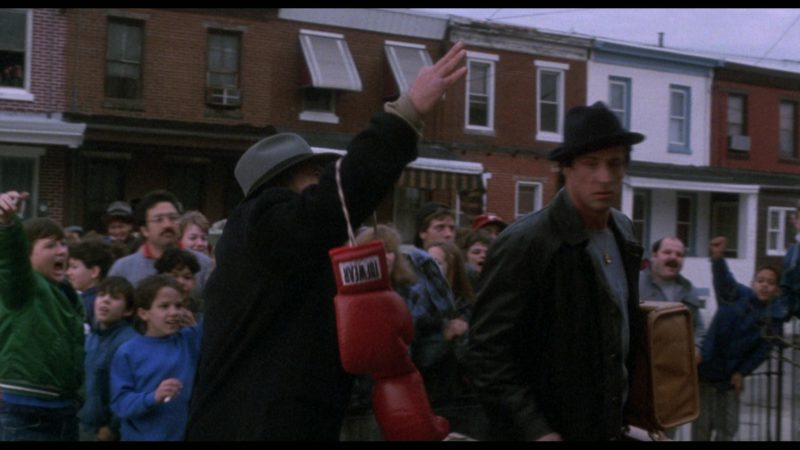 Tuf Wear Boxing Gloves in Rocky 5 (1990) - Movie Product Placement