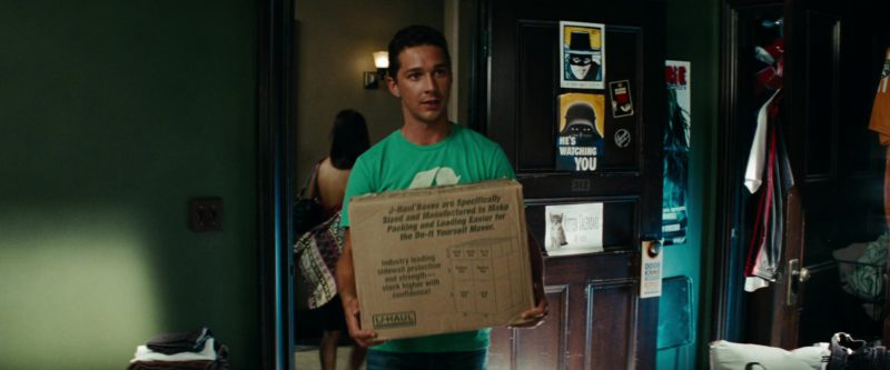 U-haul Boxes in Transformers: Revenge of the Fallen (2009) - Movie Product Placement
