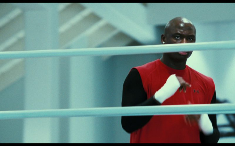 Under Armour Red T-Shirt Worn by Antonio Tarver in Rocky Balboa (1)