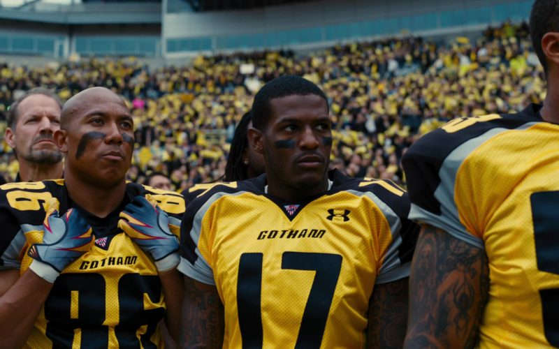 Under Armour Yellow Jerseys For American Football Players in The Dark Knight Rises (3)