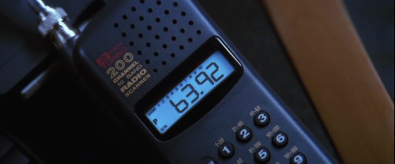 Uniden Radio in Mission: Impossible (1996) - Movie Product Placement