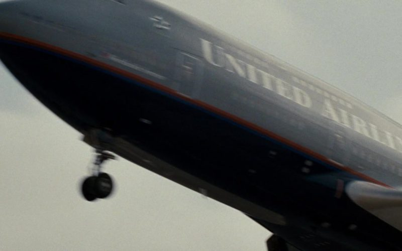 United Airlines Aircraft in Rush Hour 3
