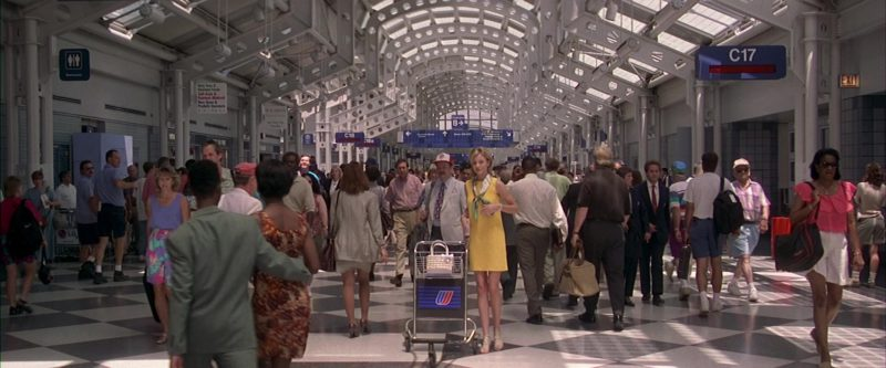 United Airlines in My Best Friend's Wedding (1997) Movie Product Placement