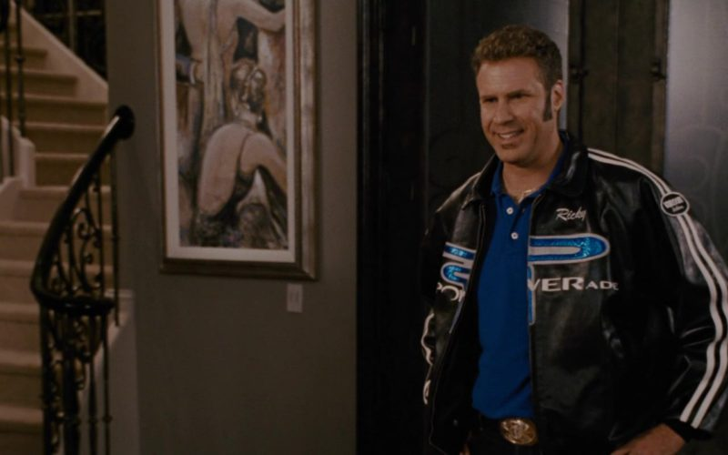 Vanson Leather Jacket x Powerade Drink Logo Worn by Will Ferrell in Talladega Nights (1)