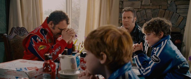 Vanson Leathers Blue Jackets in Talladega Nights: The Ballad of Ricky Bobby (2006) - Movie Product Placement