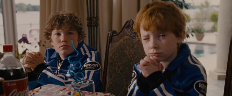 Vanson Leathers Blue Jackets in Talladega Nights: The Ballad of Ricky Bobby (2006) Movie Product Placement