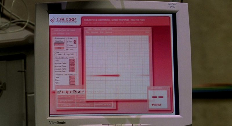 ViewSonic Monitor in Spider-Man (2002) - Movie Product Placement