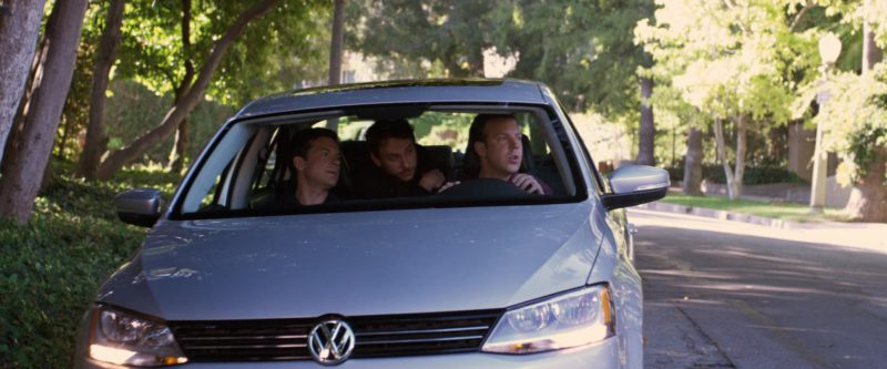 VW Jetta Vehicle in Horrible Bosses (2011) - Movie Product Placement