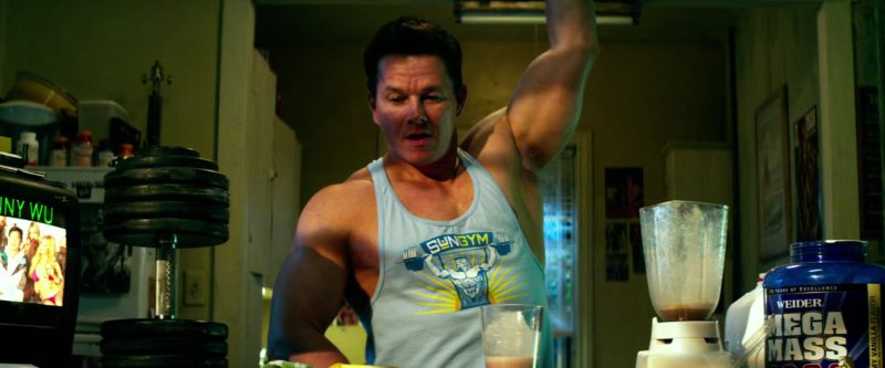 Weider MEGA MASS in Pain & Gain (2013) - Movie Product Placement