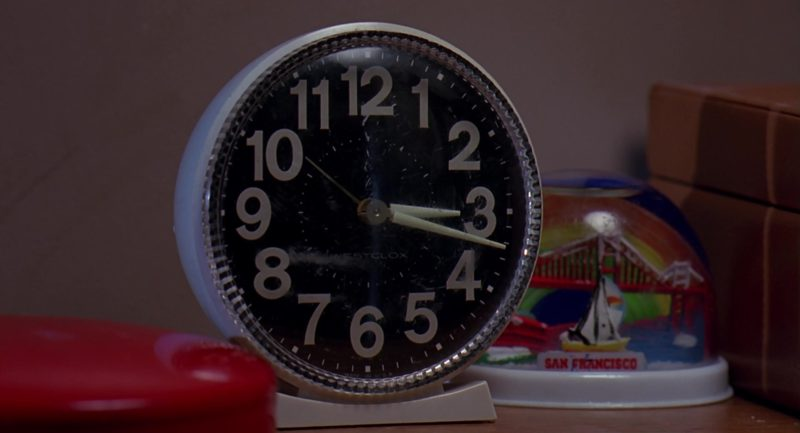 Westclox Clock in Stop! Or My Mom Will Shoot (1992) - Movie Product Placement