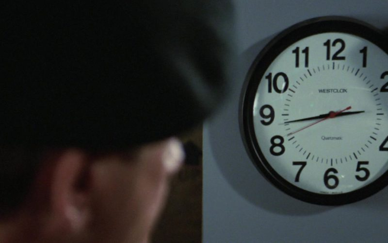 Westclox Wall Clock in Rambo First Blood Part 2 (1)