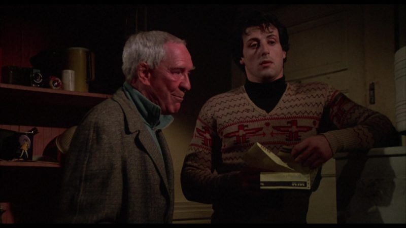Western Union Telegram Letter Held by Sylvester Stallone (Rocky Balboa) in Rocky (1976) - Movie Product Placement