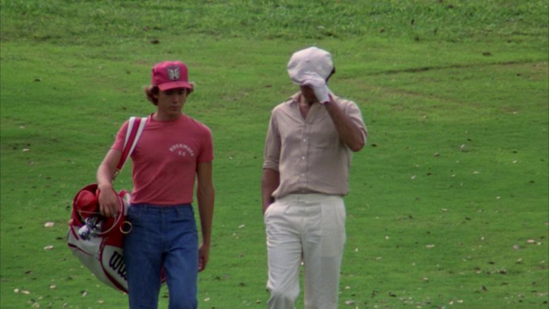 Wilson Golf Bag Used by Michael O'Keefe in Caddyshack (1980) Movie Product Placement