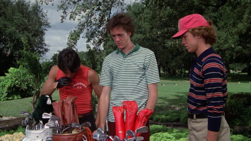 Wilson Golf Club Set in Caddyshack (1980) Movie Product Placement