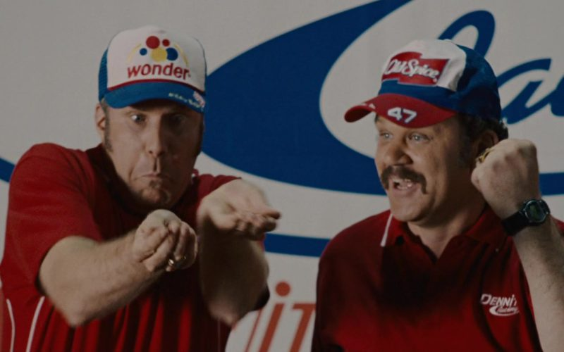 Wonder Bread Cap Worn by Will Ferrell and Old Spice Cap Worn by John C. Reilly (3)