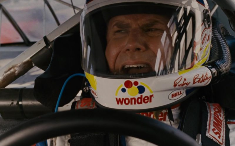 Wonder Bread Helmet Worn by Will Ferrell in Talladega Nights (5)