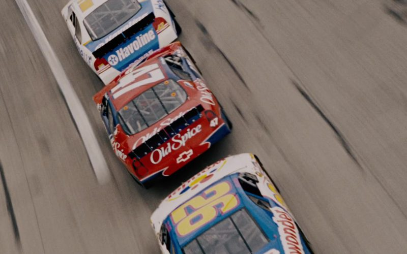 Wonder Bread, Old Spice, Chevrolet and Havoline in Talladega Nights