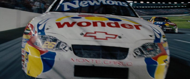 Wonder Bread and Chevrolet Car Driven by Will Ferrell in Talladega Nights: The Ballad of Ricky Bobby (2006) Movie Product Placement