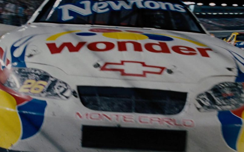 Wonder Bread and Chevrolet Car Driven by Will Ferrell in Talladega Nights (1)