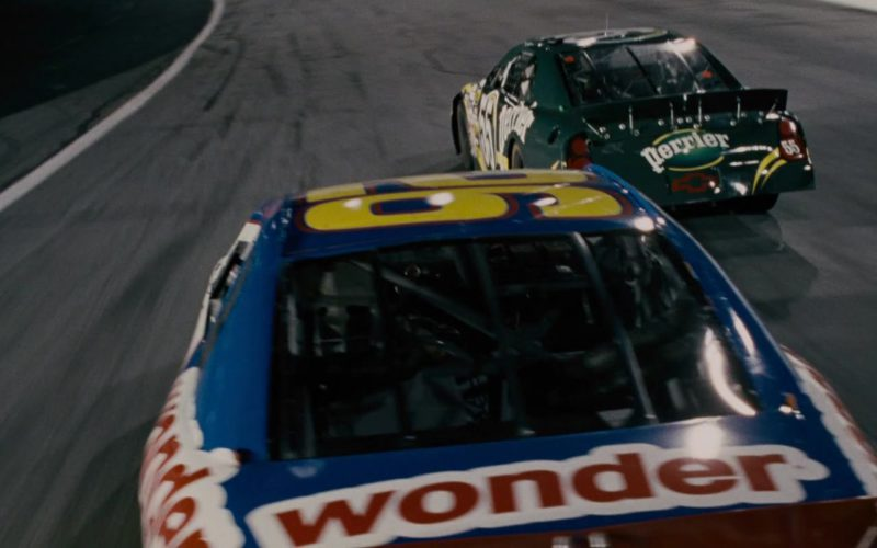 Wonder Bread and Perrier in Talladega Nights