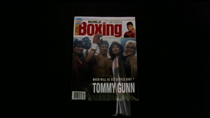 World Boxing Magazine in Rocky 5 (1990) Movie Product Placement