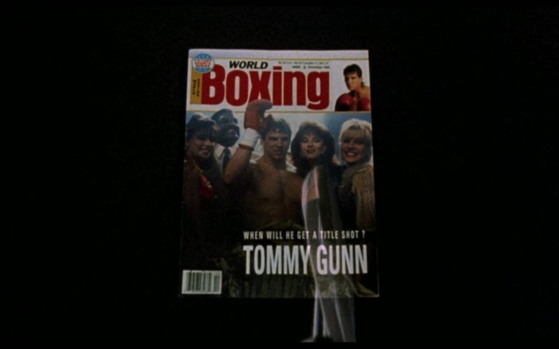 World Boxing Magazine in Rocky 5