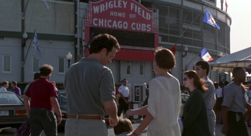 Wrigley Field Home Of The Chicago Cubs in Sleepless in Seattle (1993) - Movie Product Placement