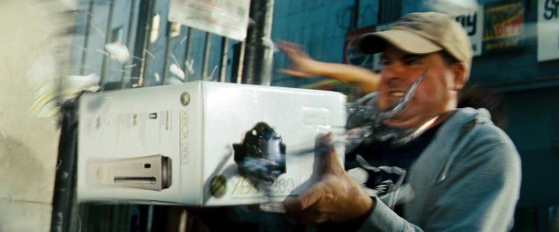 Xbox 360 Video Game Console in Transformers (2007) - Movie Product Placement