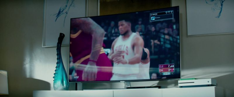 Xbox One Video Game Console and Samsung TV in The Hate U Give (2018) Movie Product Placement