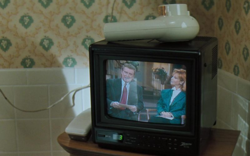 Zenith TV in The Pelican Brief