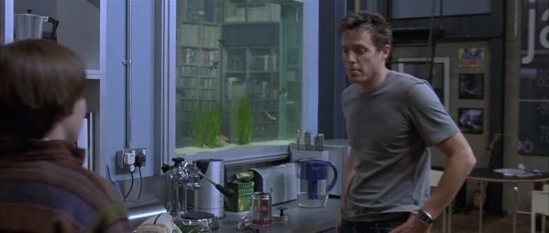 illy Coffee in About a Boy (2002) - Movie Product Placement