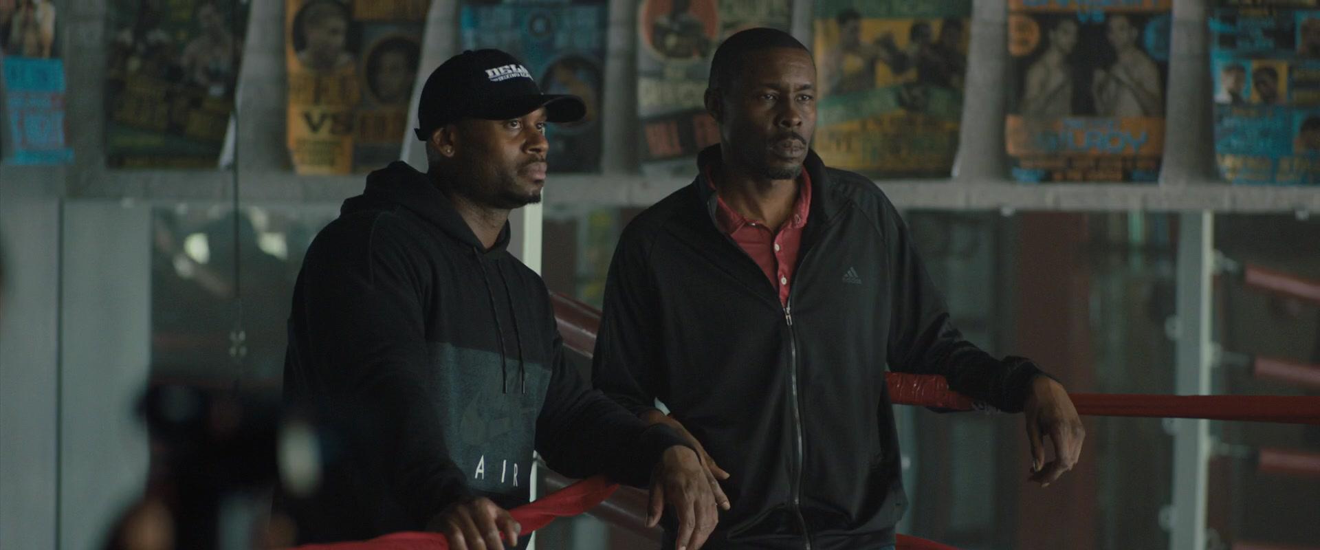 Adidas Black Track Jacket Worn By Wood Harris In Creed 2 2018 Movie