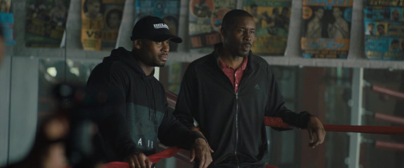 Adidas Black Track Jacket Worn by Wood Harris in Creed 2 (2018) Movie Product Placement