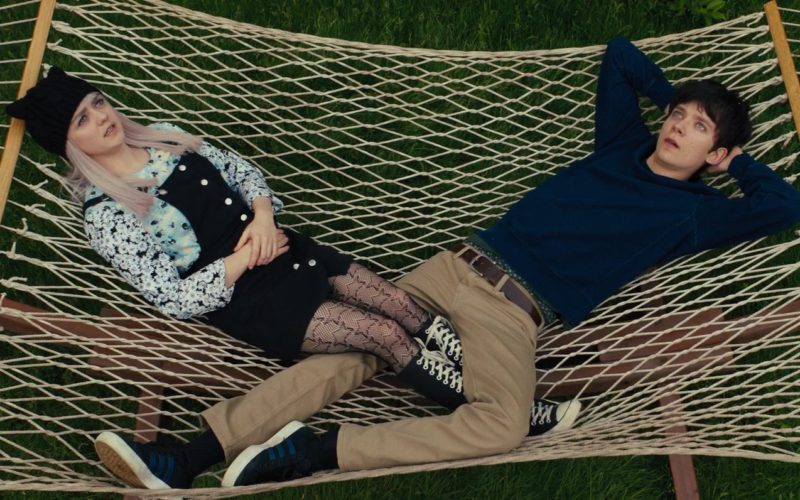 Adidas Sneakers Worn by Asa Butterfield in Then Came You