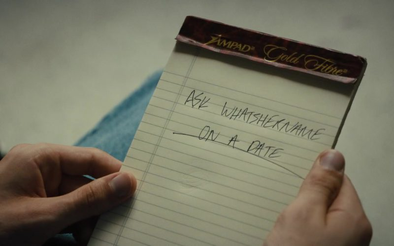 Ampad Gold Fibre Writing Pads Used by Asa Butterfield in Then Came You