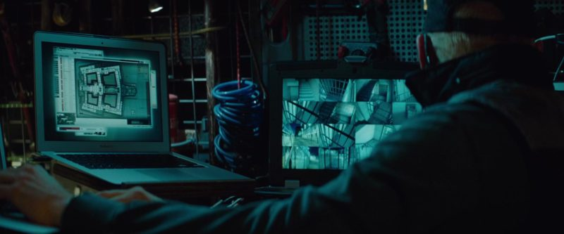 Apple MacBook Air Laptop Used by Simon Pegg in Mission: Impossible – Ghost Protocol (2011) - Movie Product Placement