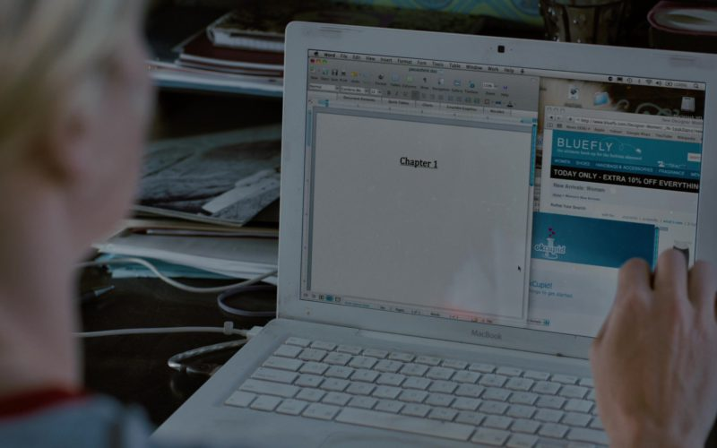 Apple MacBook Laptop, Bluefly and OkCupid Websites in Young Adult (1)