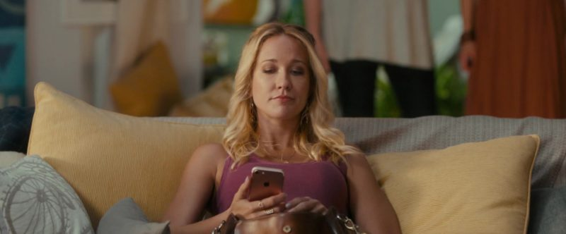 Apple iPhone Smartphone Used by Anna Camp in Egg (2018) Movie Product Placement